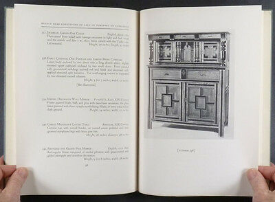 FRANCIS SHAW COLLECTION - ANTIQUE AMERICAN COLONIAL FURNITURE - 1935 CATALOG