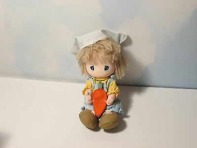 Precious Moments Gardening Applause Plush Girl with Carrot