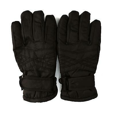 Boys 2-4 Thinsulate 3M Water Proof Resistant Liner Ski Snow Full Gloves Black