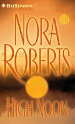 High Noon by Nora Roberts  - New Abridged Audio Book 5CDs