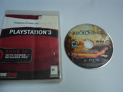 Kingdoms of Amalur Reckoning (Sony Playstation 3) PS3 Game - Works Good