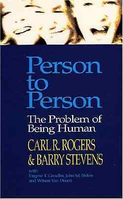 Person to Person : The Problem of Being Human - Paperback NEW Rogers, Carl R. 19