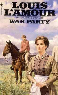 War Party - L'Amour, Louis NEW Paperback 31 May 1999