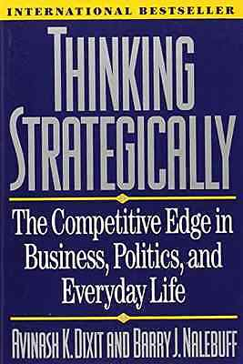 Thinking Strategically: The Competitive Edge in Busines - Paperback NEW Dixit, A