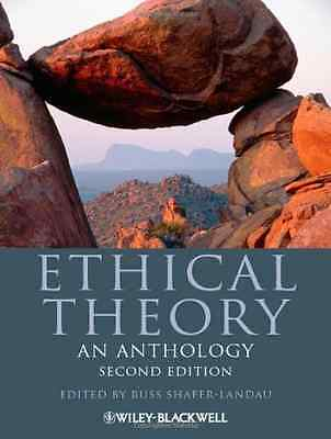Ethical Theory: An Anthology (Blackwell Philosophy Anth - Paperback NEW  2012-07