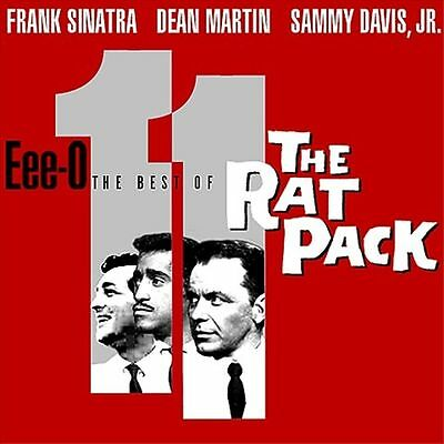 FRANK SINATRA, DEAN MARTIN, SAMMY DAVIS JR. CD EEE-O THE BEST OF THE RAT PACK