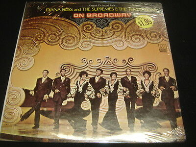 Diana Ross and the Supremes & The Temptations On Broadway Still Sealed  LP