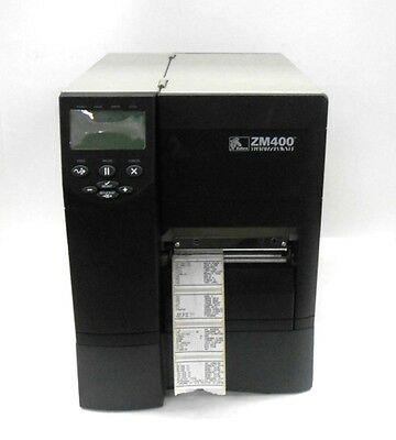 Zebra Thermal Transfer Barcode Label Printer Zm400-2001-0000T