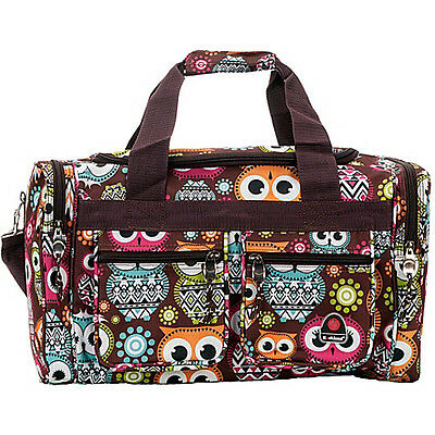 """Rockland Luggage Freestyle 19"""" Tote Bag - OWL Travel Duffel NEW"""