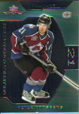 2001-02 UD MVP Valuable Commodities #VC6 Peter Forsberg
