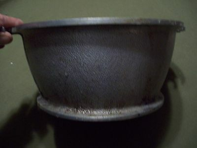 GUARDIAN SERVICE DISH WEAR 10 INCH ROUND STYLE ALUMINUM POT WITHOUT LID