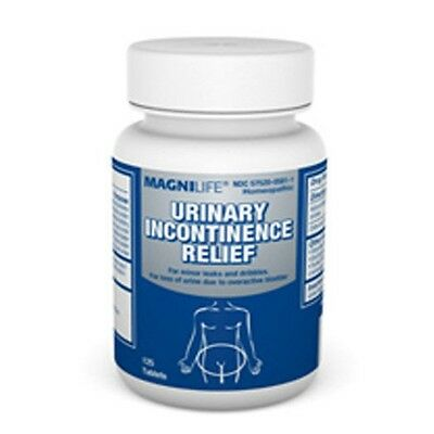 MagniLife Urinary Incontinence Relief Tablets Homeopathic Overactive Bladder