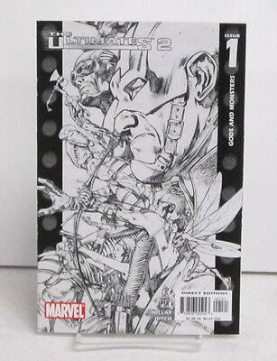 Ultimates 2 #1 February 2005 Sketch Variant By Marvel Comics Near Mint (9.4)