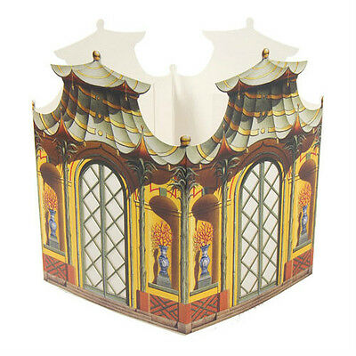 Architectural Watercolors THE TEA HOUSE Paper Table Lantern 01066 Chinoiserie