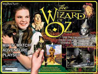 WIZARD of OZ  Magnetic Mix 'N' Match Playset Dorothy Toto Wicked Witch