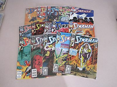 STARMAN 1-45 (1988 SERIES) LOT OF 26 PLUS 1995 SERIES LOT OF 23 TOTAL OF 49 DC