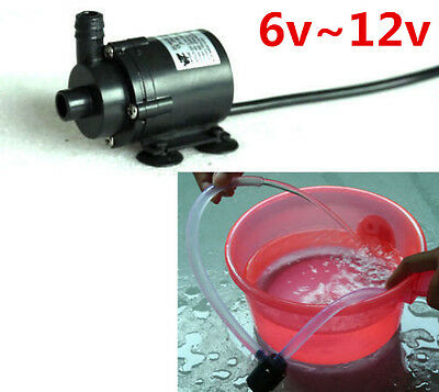 DC 6V~12V Micro Brushless Submersible Motor Water Pump F Solar Fountain Cooling