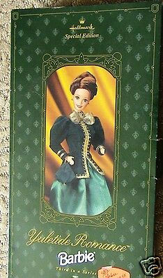 NEW IN BOX  Hallmark Special Edition YULETIDE ROMANCE Barbie - 1996