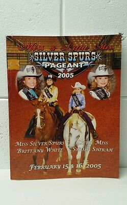 2005 miss and Lil miss silver spurs pageant program, St Cloud Florida