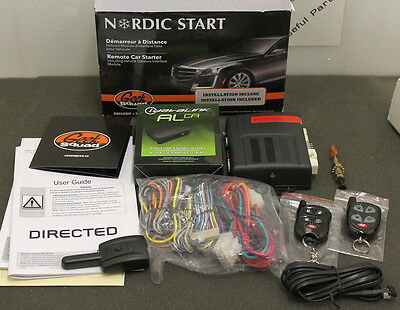 Nordic Start Two-Way Remote Car Starter & Bypass Kit (NS2000CA)