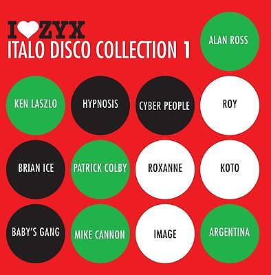 CD ZYX ITALO DISCO COLLECTION 1 by Various Artists 3 CDs
