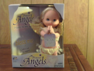 "Prayer Talking Angel Doll ""bless Me"""