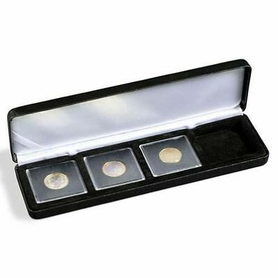 Lighthouse Nobile Q4 Quadrum Four (4) Coin Leatherette Display/Presentation Box