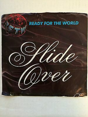 READY FOR THE WORLD Slide Over M- 45 RPM P/S VG+