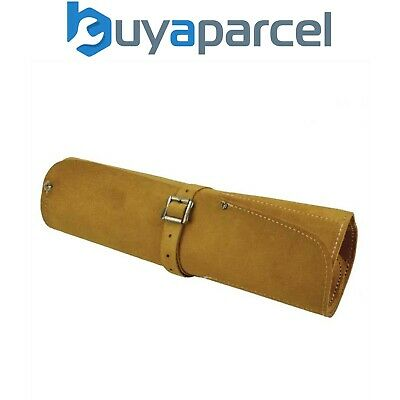 Faithfull FAILCR8 Suede Leather 8 Pocket Chisel Roll