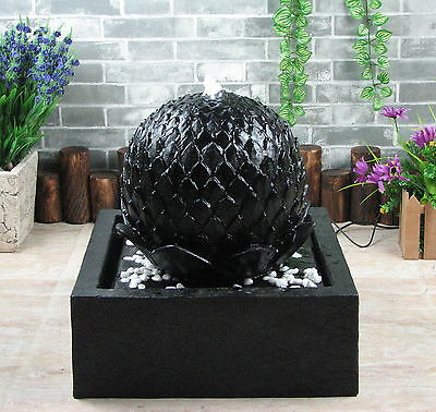 solar brunnen teichpumpe springbrunnen gartenbrunnen zierbrunnen wasserspiel. Black Bedroom Furniture Sets. Home Design Ideas