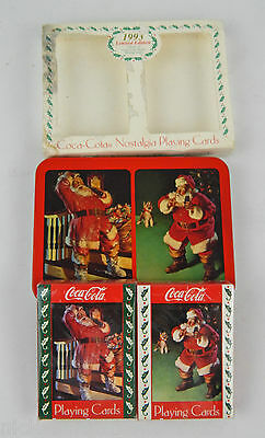 1993 Limited Edition Coca-Cola Playing Cards Double Deck New Sealed