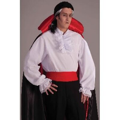 Mens Adult COLONIAL or Vampire or Pirate Shirt Costume Outfit