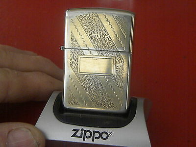 Zippo 1993~Gold Plated Vintage Lighter-Fully Functional! Nice! Refurbished hinge