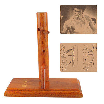C102 Wing Chun Wooden Dummy Sticky Hand Strength Trainning Wood Crafts Model