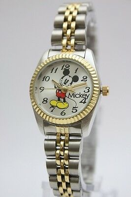 New Disney Mickey Mouse Classic Two Tone Watch 25mm MCK618
