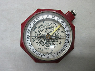 Vintage Boy Scouts Of America Compass With Lock In Dial