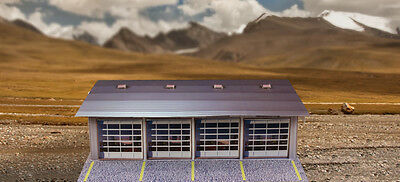 """BK 4311 1:43 Scale """"4 Stall Pit Garage"""" Photo Real Scale Building Kit"""