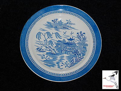 W T Copeland & Sons 1867-1890 Victorian Spode Willow Plate Stoke Upon Trent UK