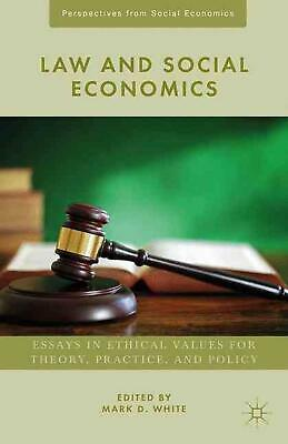 NEW Law and Social Economics by Hardcover Book (English) Free Shipping