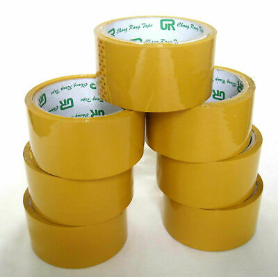 36x Roll High Quality Sticky Packing Packaging Sealing Tape 48mm x 75M WHOLESALE