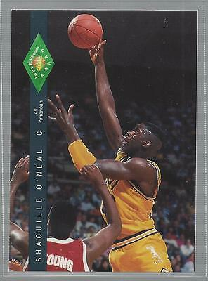 Shaquille O'Neal  1992-93 Classic Four Sport LSU Card # 318