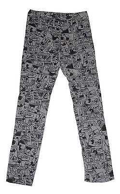 Girls Leggings Bottoms Official Disney Minnie Mouse 2-12 Years Comic Design