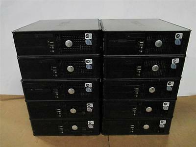 Lot of 10 Dell Optiplex 755 SFF Core2Duo 3.0GHz/2GB DDR2/160GB HDD PC Computer