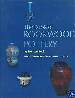 Rookwood Art Pottery incl. History Types Designers Dates Marks Etc / Scarce Book