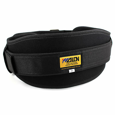 Neoprene Weight Lifting Belt Gym Fitness Wide Back Support Training +Buckle