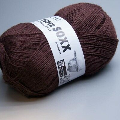 Lang Yarns Super Soxx Nature 4Ply 0064 / 100g Sockenwolle (6.95 EUR pro 100 g)