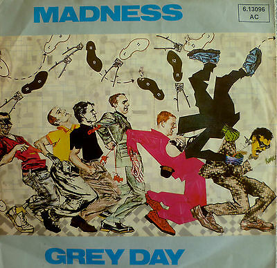 "7"" 1981 KULT SKA ! MADNESS : Grey Day // MINT- \"