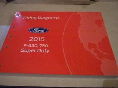 2015 ford f-650, 750 super duty wiring diagrams service manual bw201