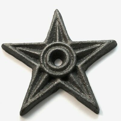 4 Inch Cast Iron Architectural Star ST4 (Lot of 10)