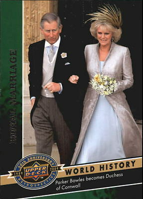 2009 Upper Deck 20th Anniversary #2097 Royal Marriage